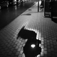 Lichtpfütze