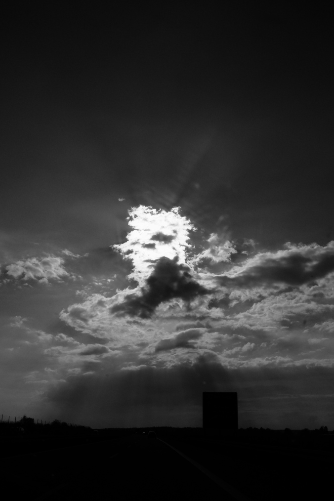 Weiße Wolke