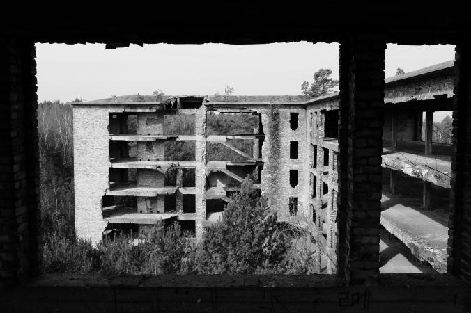 Gerahmte Ruine