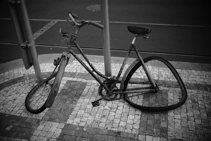 Dalí-Fahrrad